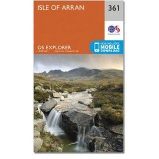 OS Explorer Map 361 Isle of Arran
