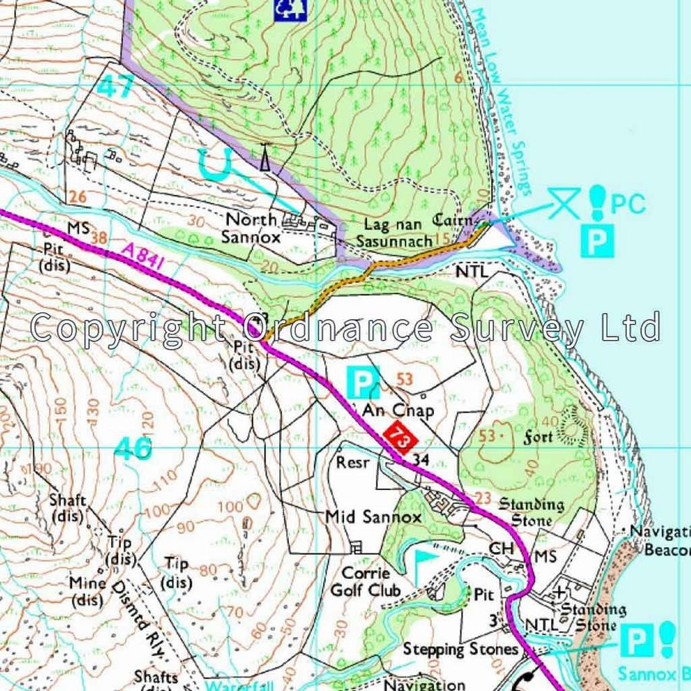 Ordnance Survey OS Explorer ACTIVE Map 361 Isle of Arran