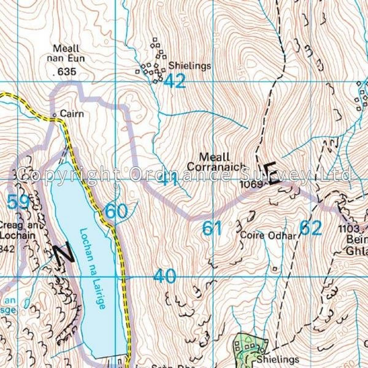 Ordnance Survey OS Landranger Map 51 Loch Tay & Glen Dochart