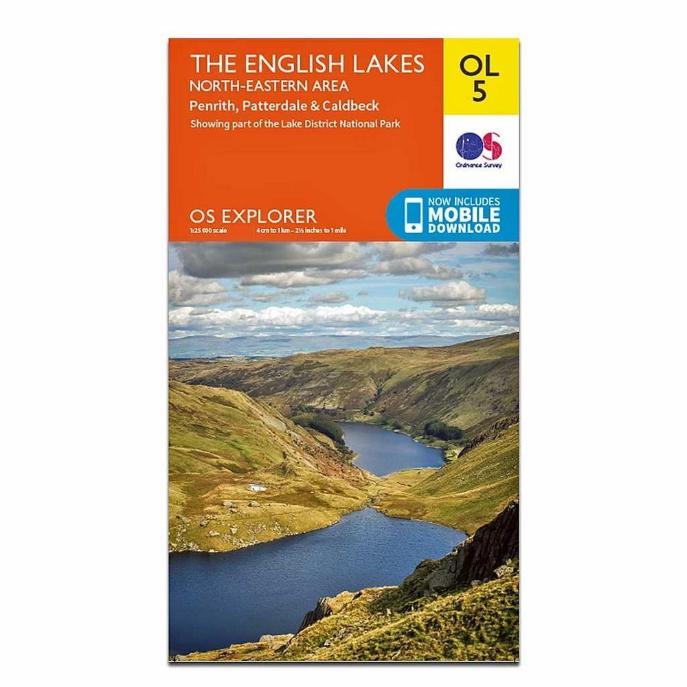 Ordnance Survey OS Explorer Map OL5 The English Lakes - North Eastern