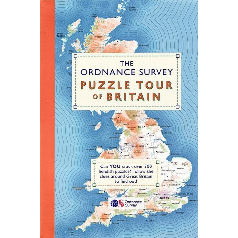 Cordee The O.S. Puzzle Tour of Britain