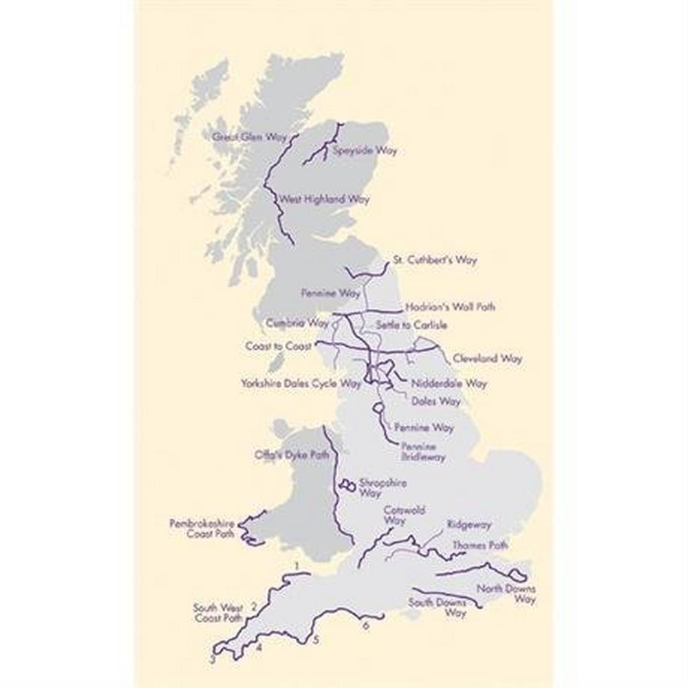 Harveys Harvey Map - XT40: Coast to Coast - East (Keld to Robin Hood's Bay)