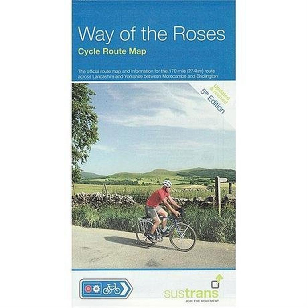 Sustrans Cycle Route Map : Way of The Roses