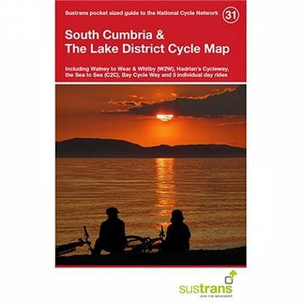 Sustrans Cycle Map - South Cumbria & The Lake District