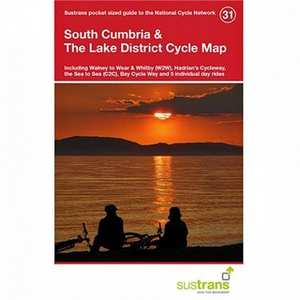 Cycle Map - South Cumbria & The Lake District