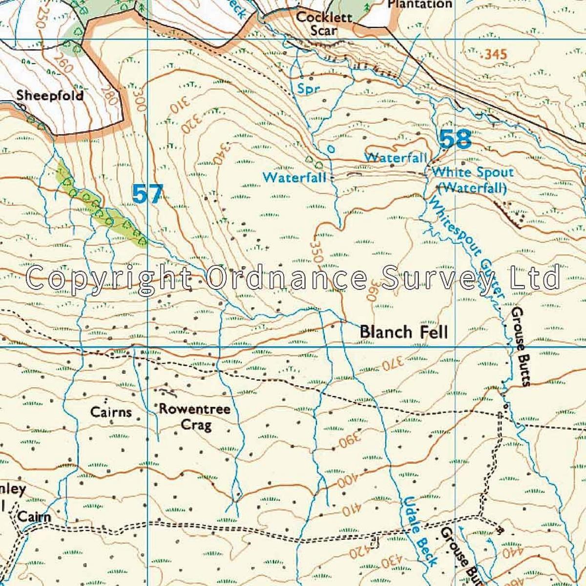 Ordnance Survey OS Explorer ACTIVE Map OL41 Forest of Bowland & Ribblesdale
