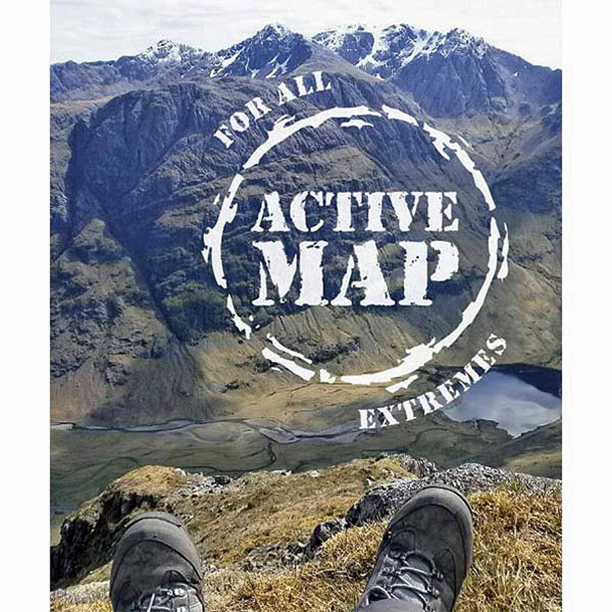 Ordnance Survey OS Explorer ACTIVE Map OL58 Braemar, Tomintoul & Glen Avon