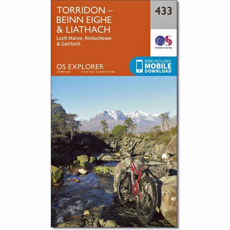 OS Explorer ACTIVE Map 433 Torridon - Beinn Eighe and Liathach