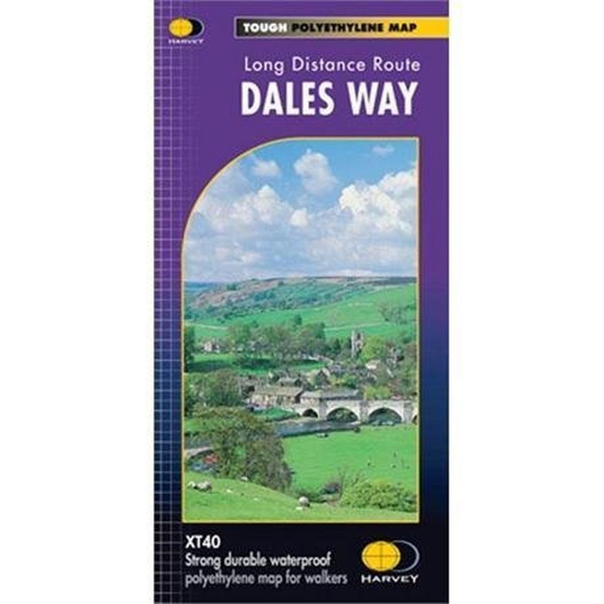 Harveys Harvey Map - XT40: Dales Way