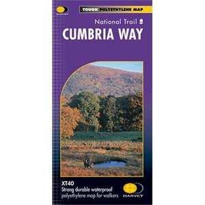 Harvey Map - XT40: Cumbria Way