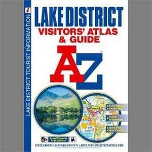 A-Z Lake District Visitors' Map