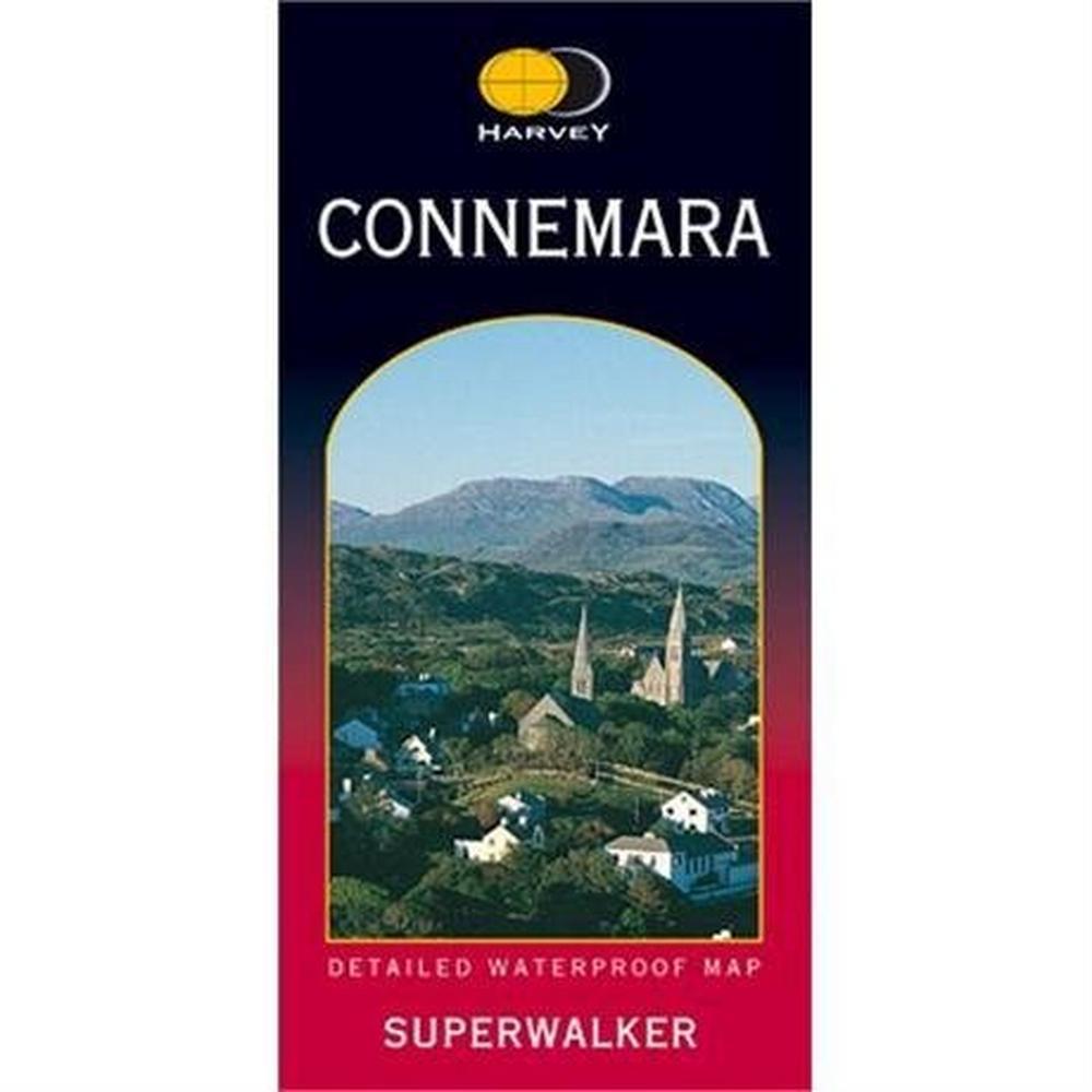 Harveys Ireland Map Harvey Superwalker: Connemara