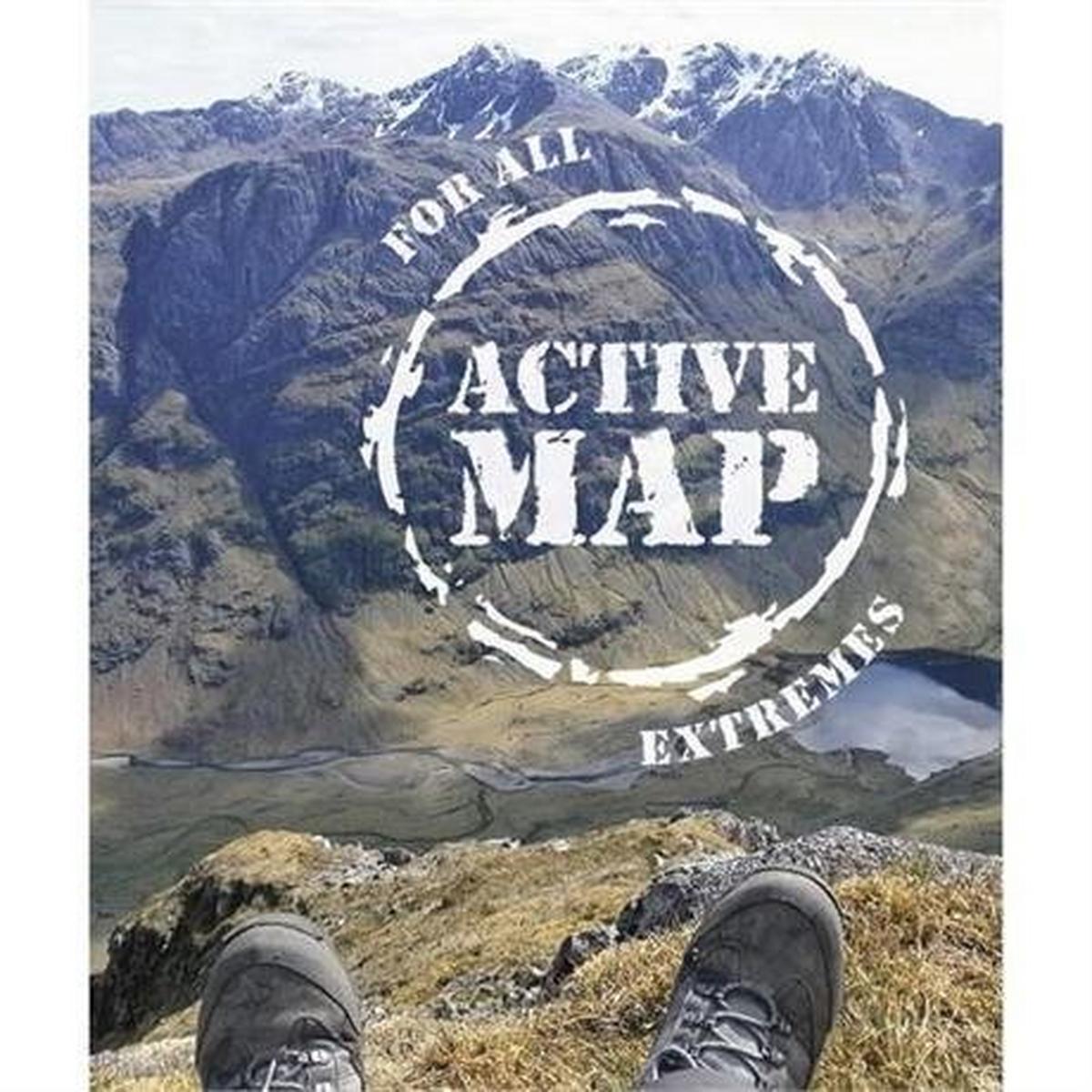 Ordnance Survey OS Landranger ACTIVE Map 42 Glen Garry & Loch Rannoch