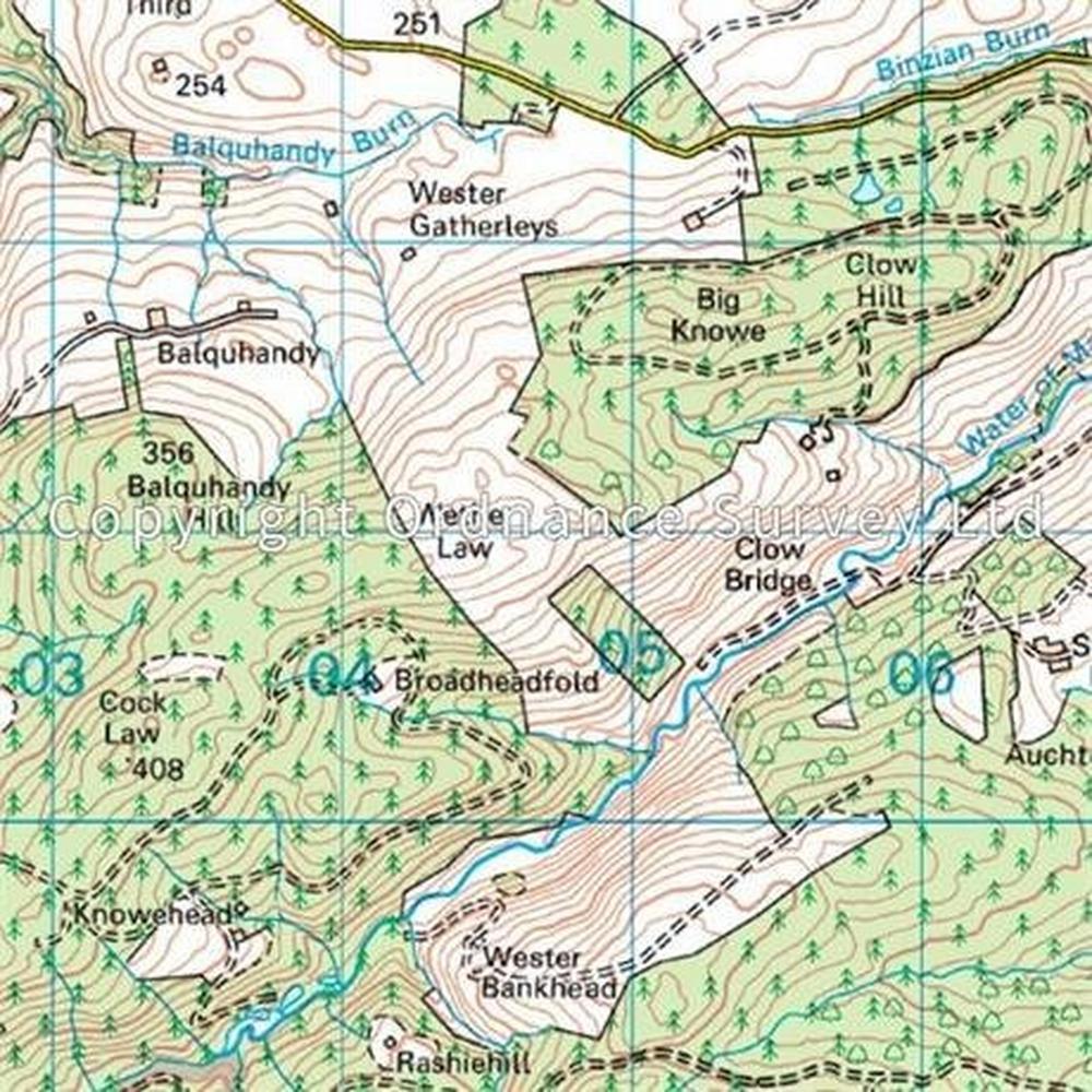 Ordnance Survey OS Landranger ACTIVE Map 58 Perth & Alloa, Auchterarder