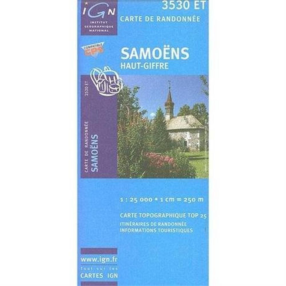 Ign Maps France IGN Map Samoens 3530 ET