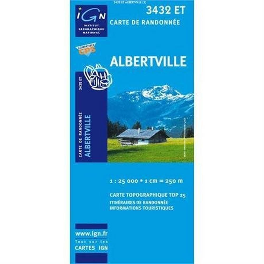 Ign Maps France IGN Map Albertville 3432 ET