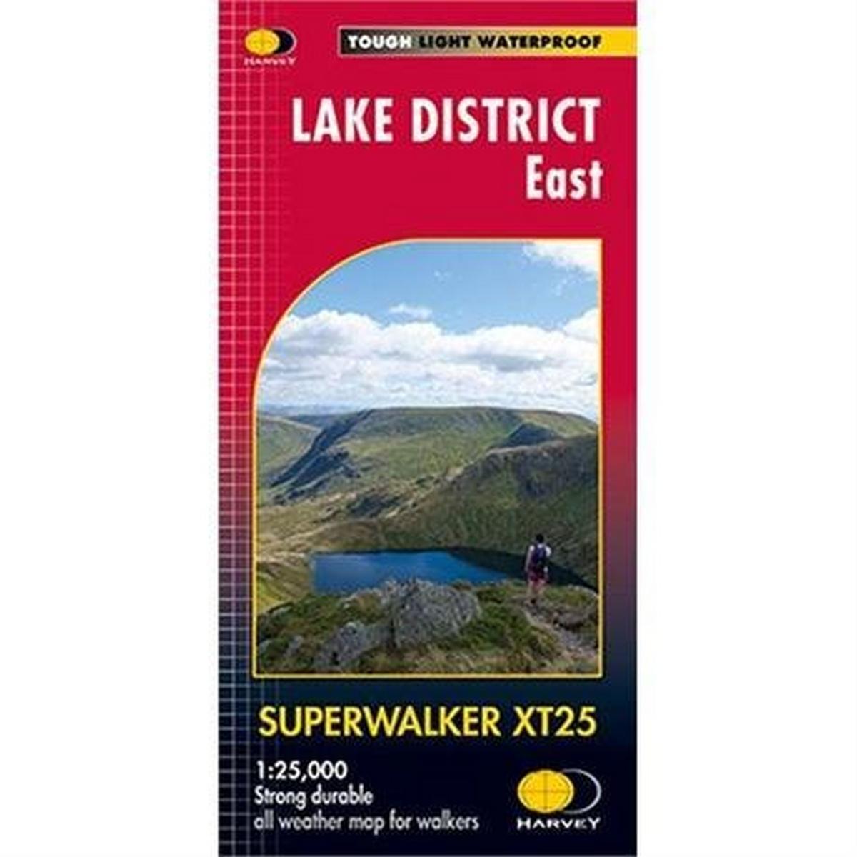 Harveys Harvey Map - Superwalker XT25: Lake District - East