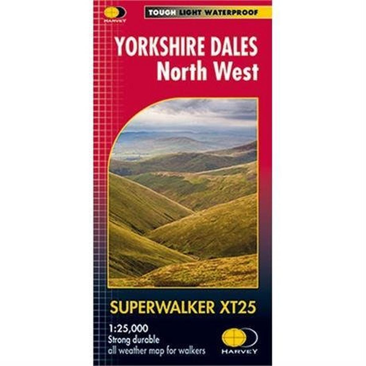 Harveys Harvey Map - Superwalker XT25: Yorkshire Dales North West