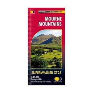 Harvey Map - Superwalker XT25: Mourne Mountains