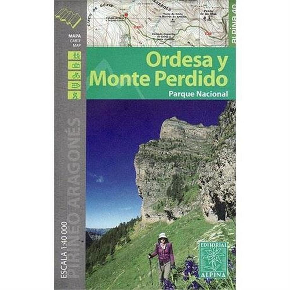 Miscellaneous Spain Map: Ordesa y Monte Perdido