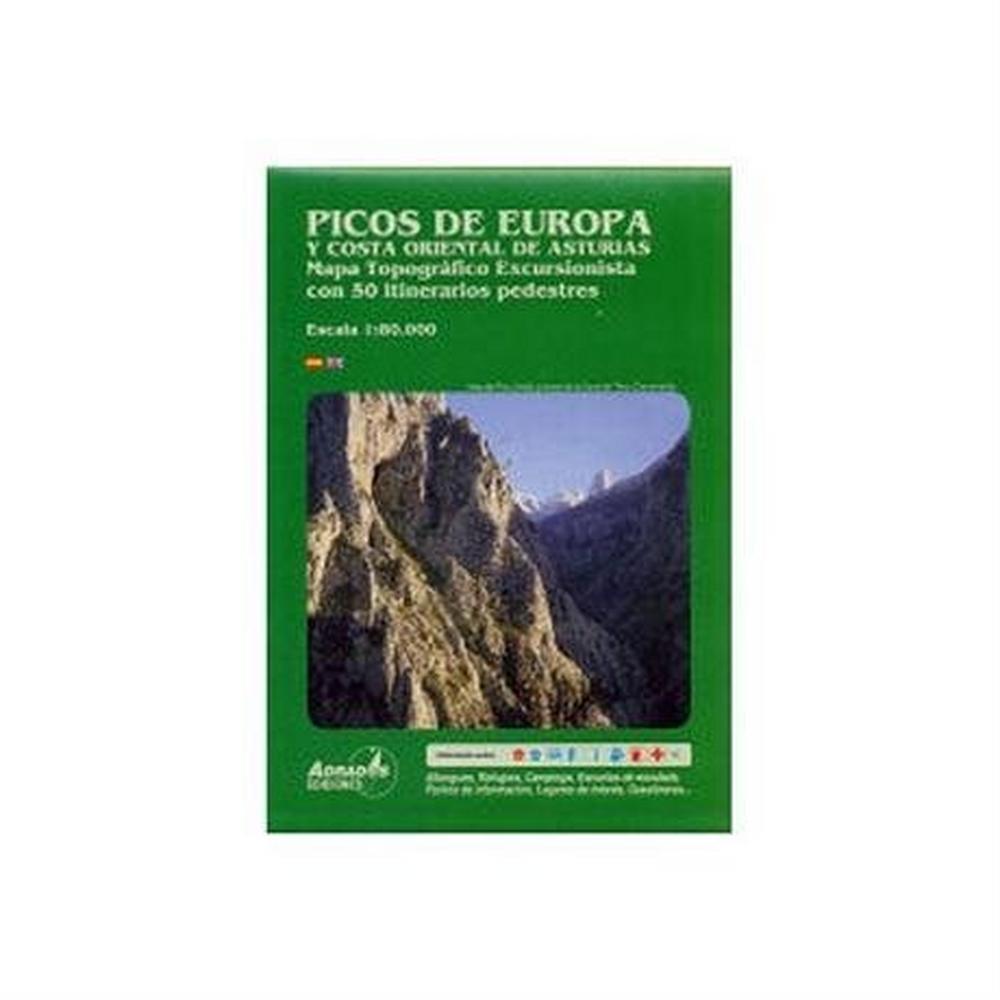 Miscellaneous Spain Map: Picos de Europa, Asturias 1:80,000