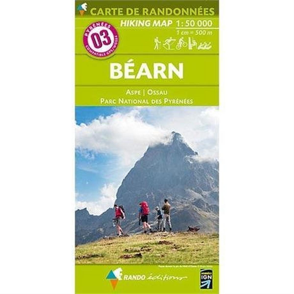 Ign Maps France IGN Map Rando Editions Bearn