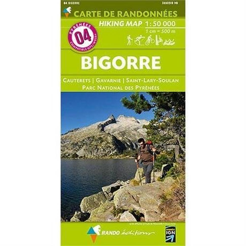 Ign Maps France IGN Map 4 Rando Editions Bigorre