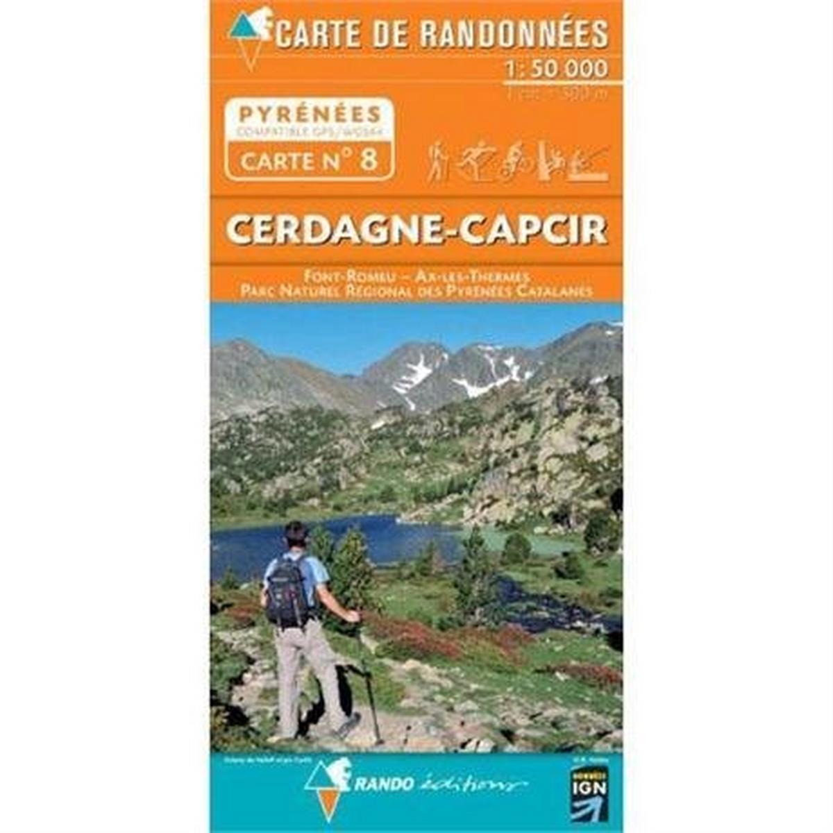 Ign Maps France IGN Map Rando Editions Cerdagne-Capcir