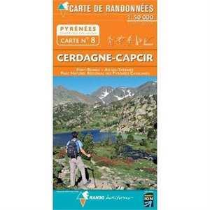 France IGN Map Rando Editions Cerdagne-Capcir