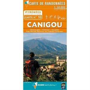 France IGN Map Pyrenees Canigou 10