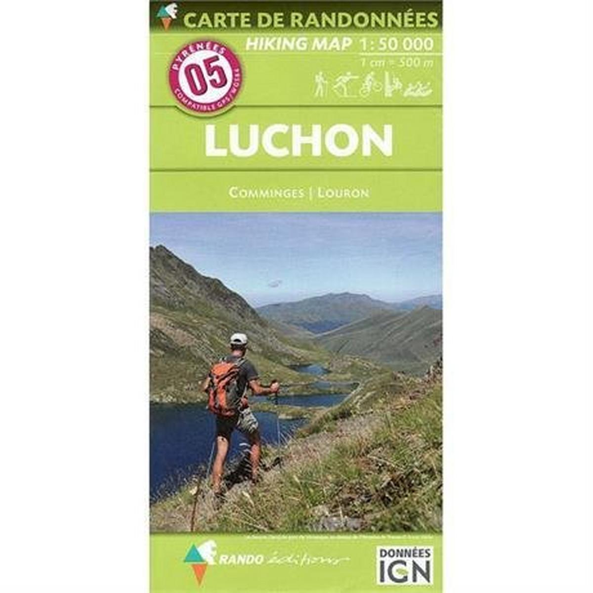 Ign Maps Pyrenees Map IGN Luchon 5
