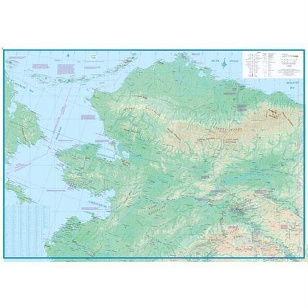 Miscellaneous Alaska Map Travel Reference