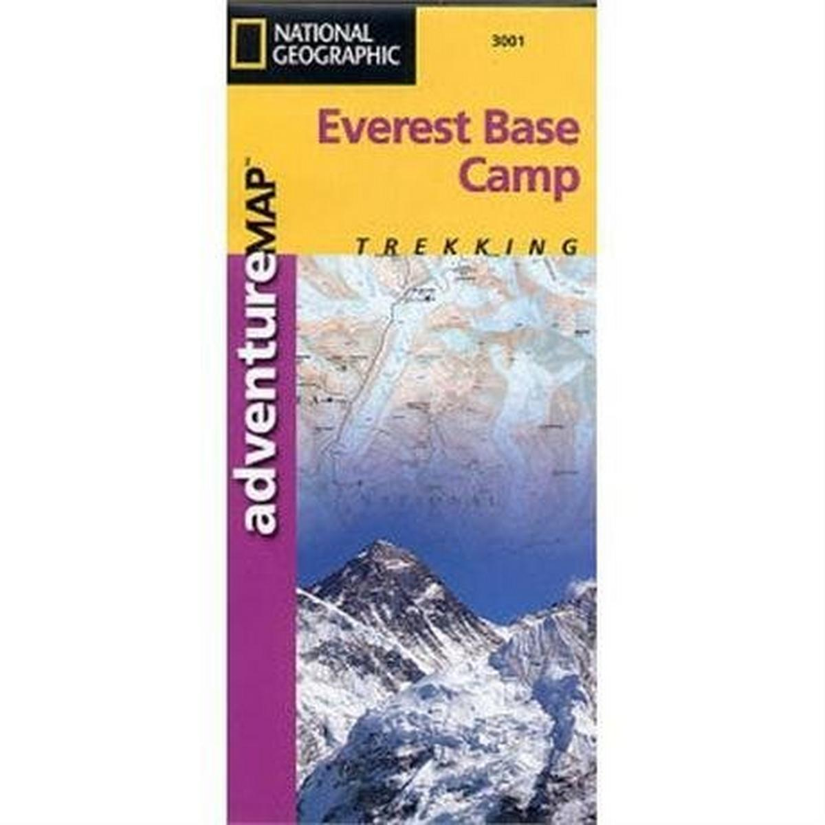 Miscellaneous Nepal Map: National Geographic Adventure Map: Everest Base Camp 1:50,000