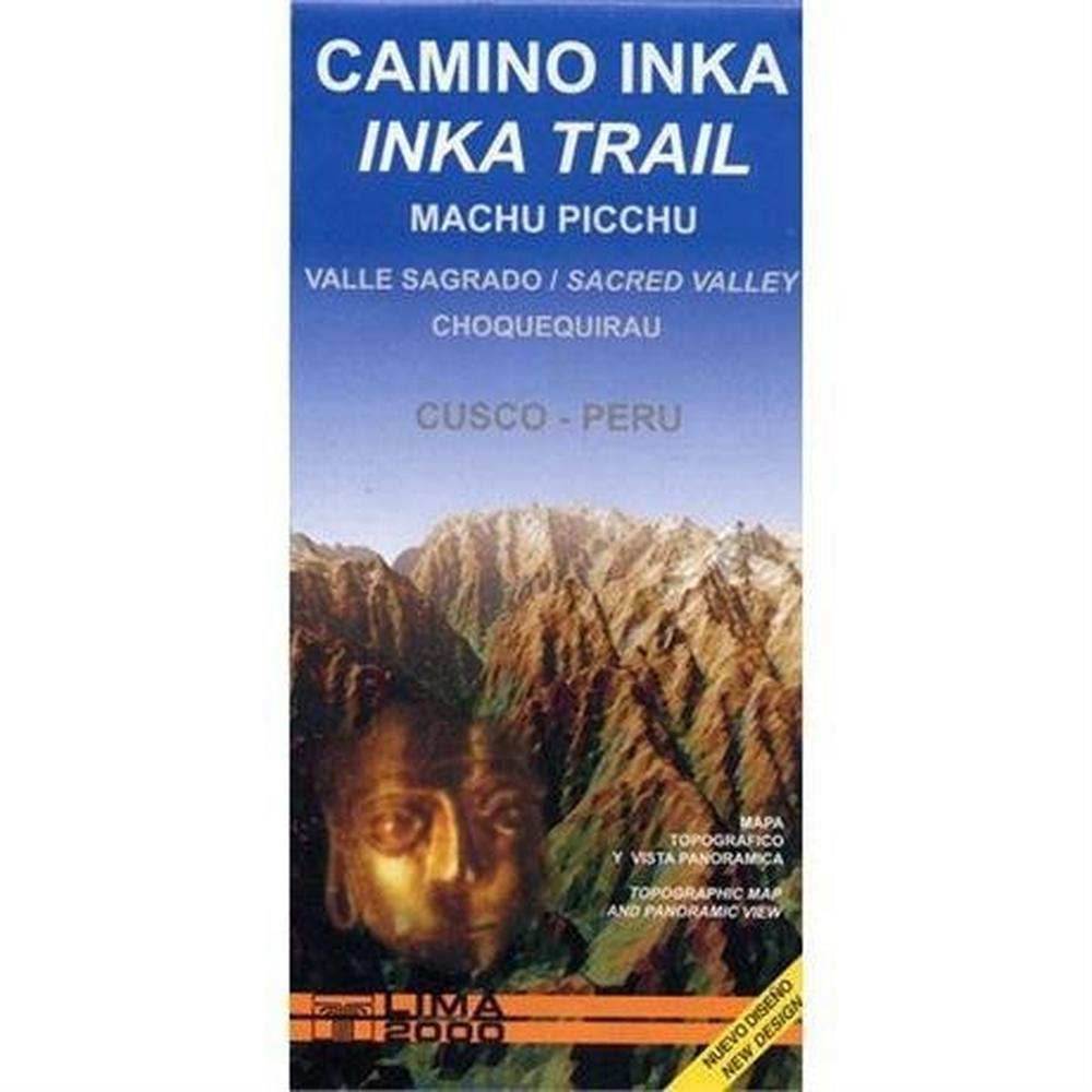 Miscellaneous Peru Map: Inca Trail, Machu Picchu 1:50 000