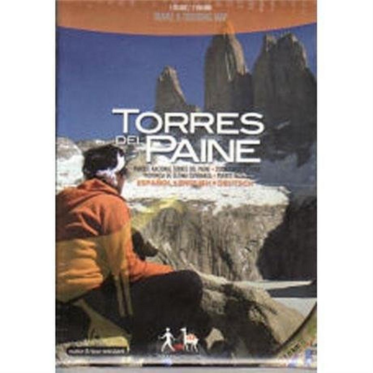 Miscellaneous Chile Map: Torres del Paine Chile 1:100,000 & 1:50,000