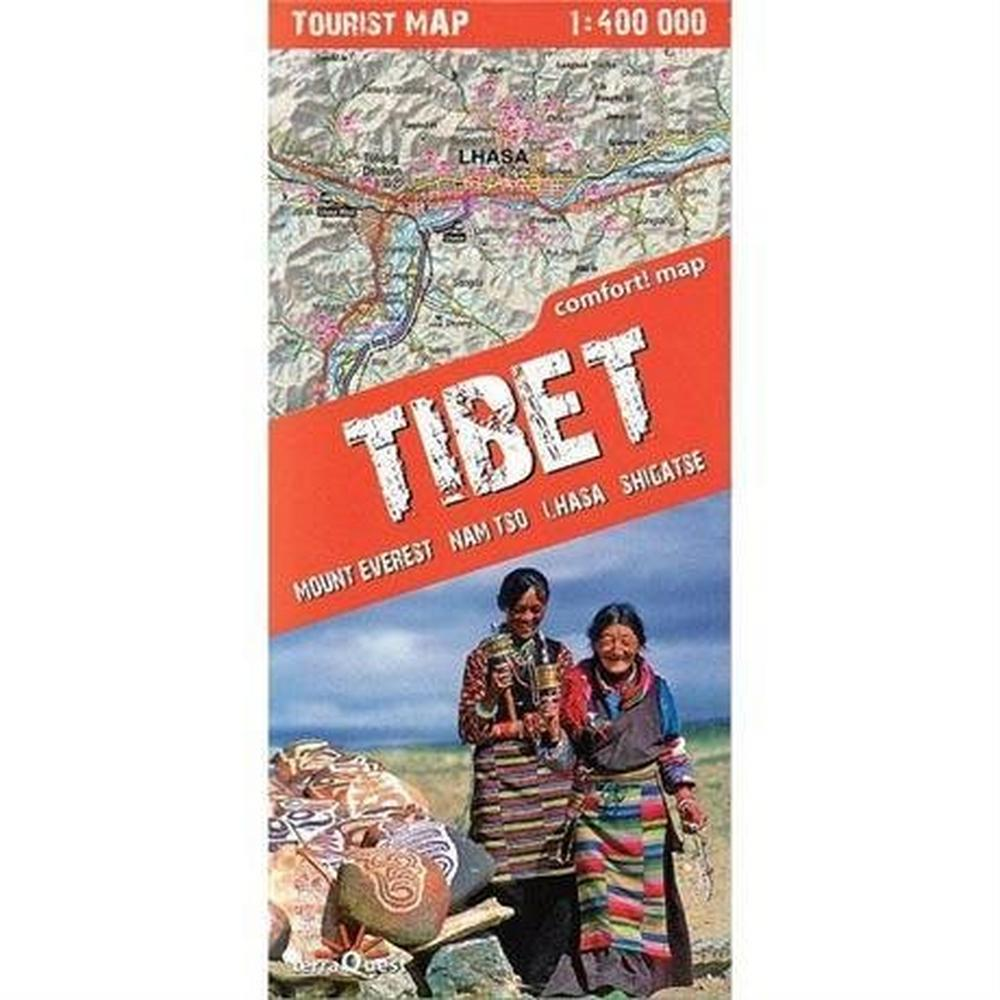 Miscellaneous Tibet Map Terraquest 1:400,000
