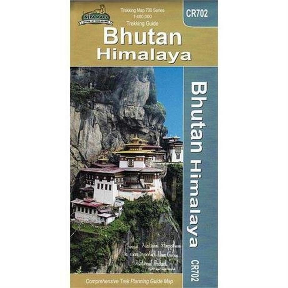 Miscellaneous Bhutan Map: Bhutan Himalaya