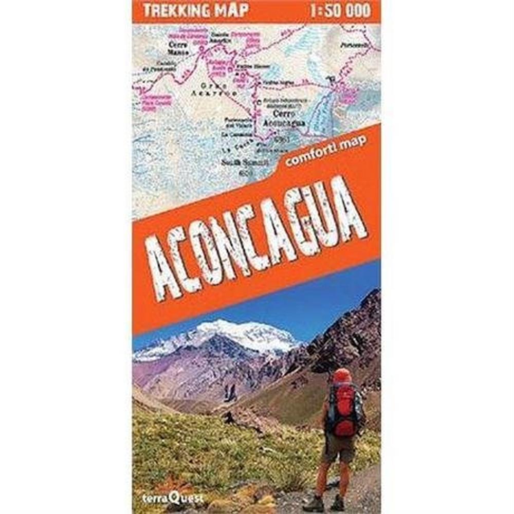 Miscellaneous Argentina Map Terraquest: Aconcagua 1: 50,000