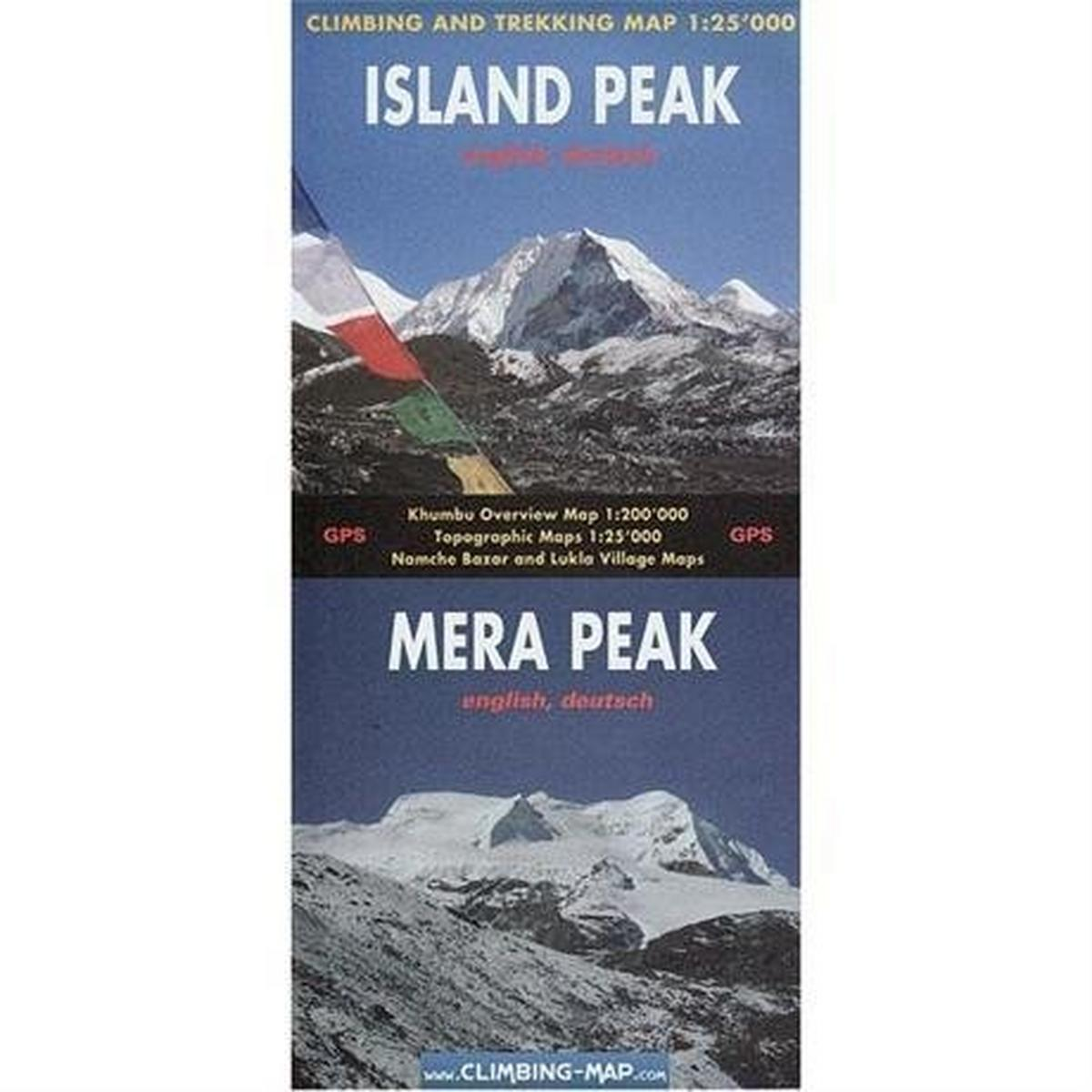 Miscellaneous Nepal Map: Island Peak / Mera Peak 1:25,000