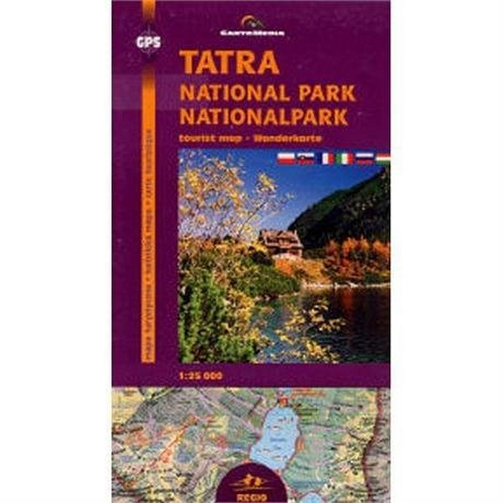 Miscellaneous Poland Map/ Slovakia: Tatra National Park Tourist Map 1:25,000
