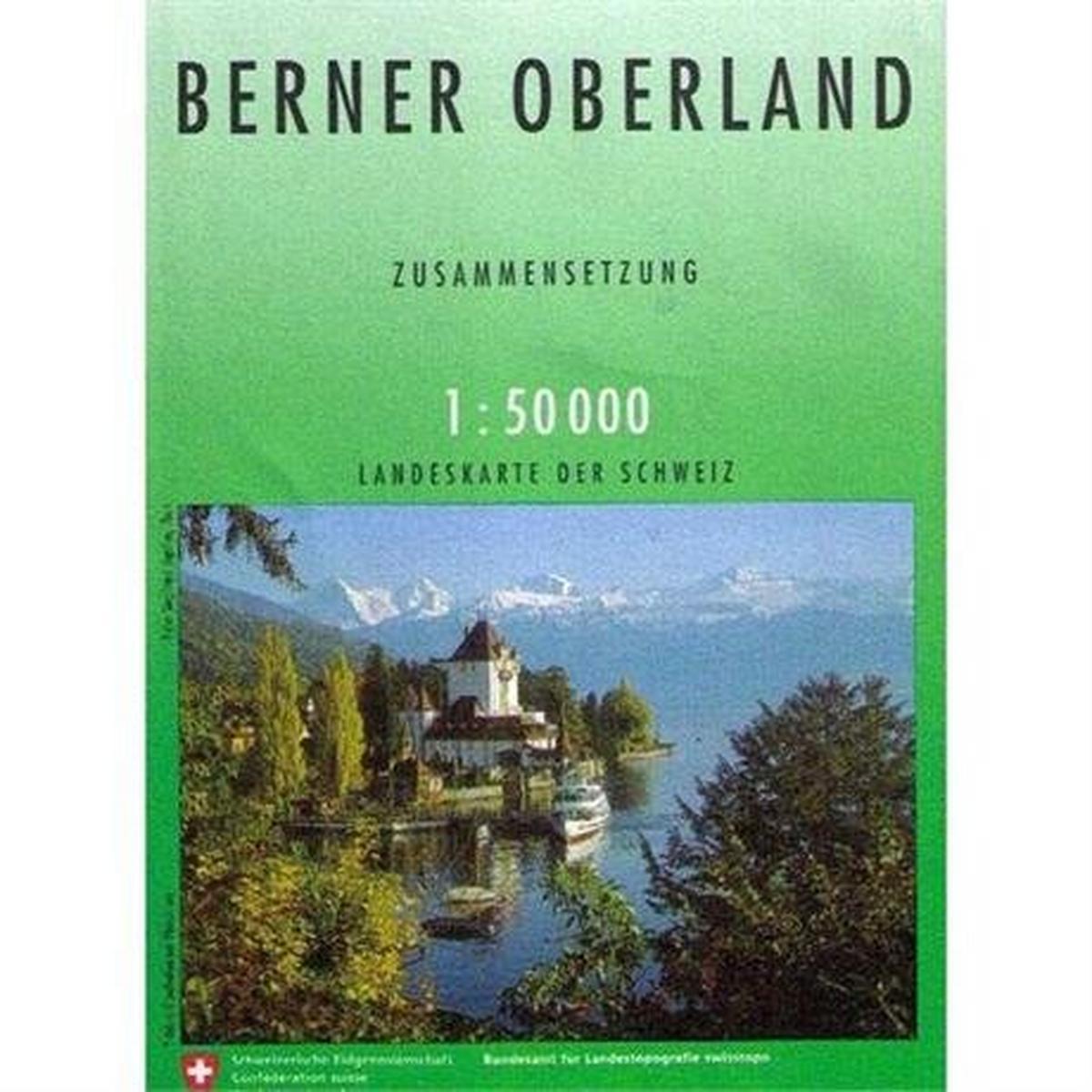 Miscellaneous Switzerland Map 5004 Berner Oberland
