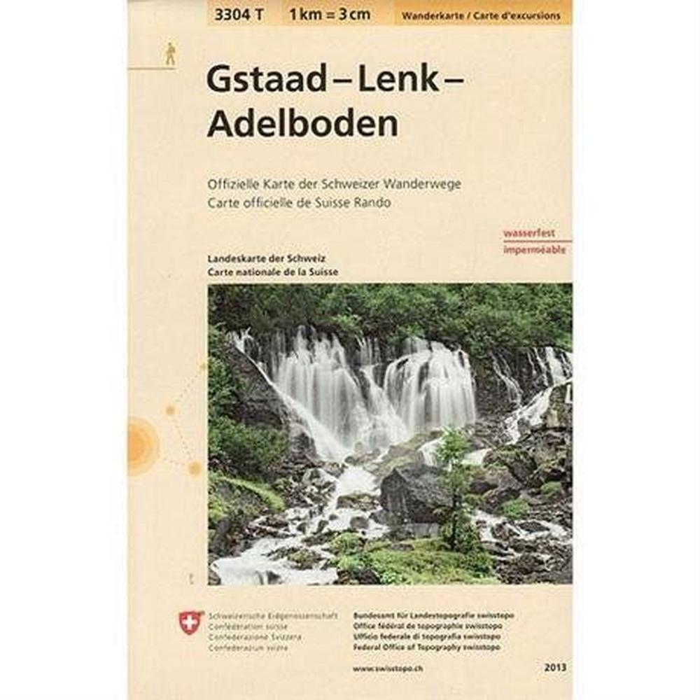 Miscellaneous Switzerland Map 3304T Gstaad - Lenk - Adelboden
