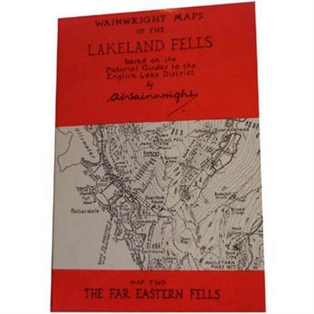Miscellaneous Wainwright Map No.2 The Far Eastern Fells