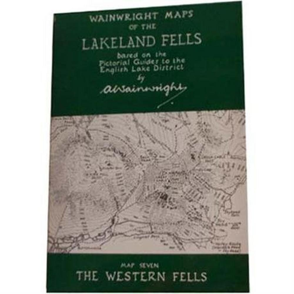 Miscellaneous Wainwright Map No.7 - The Western Fells