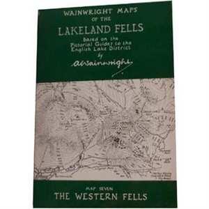 Wainwright Map No.7 - The Western Fells