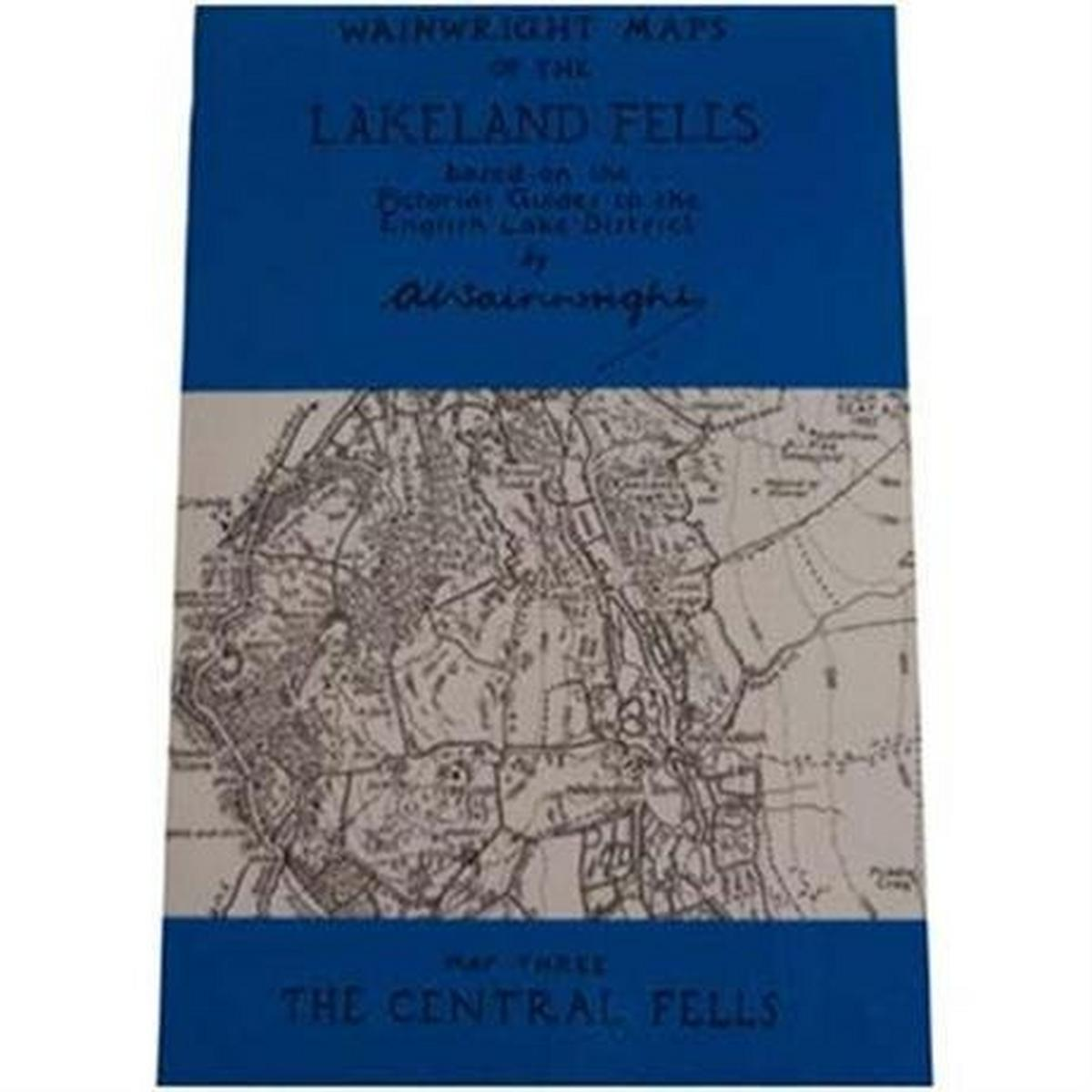 Miscellaneous Wainwright Map No.3 The Central Fells