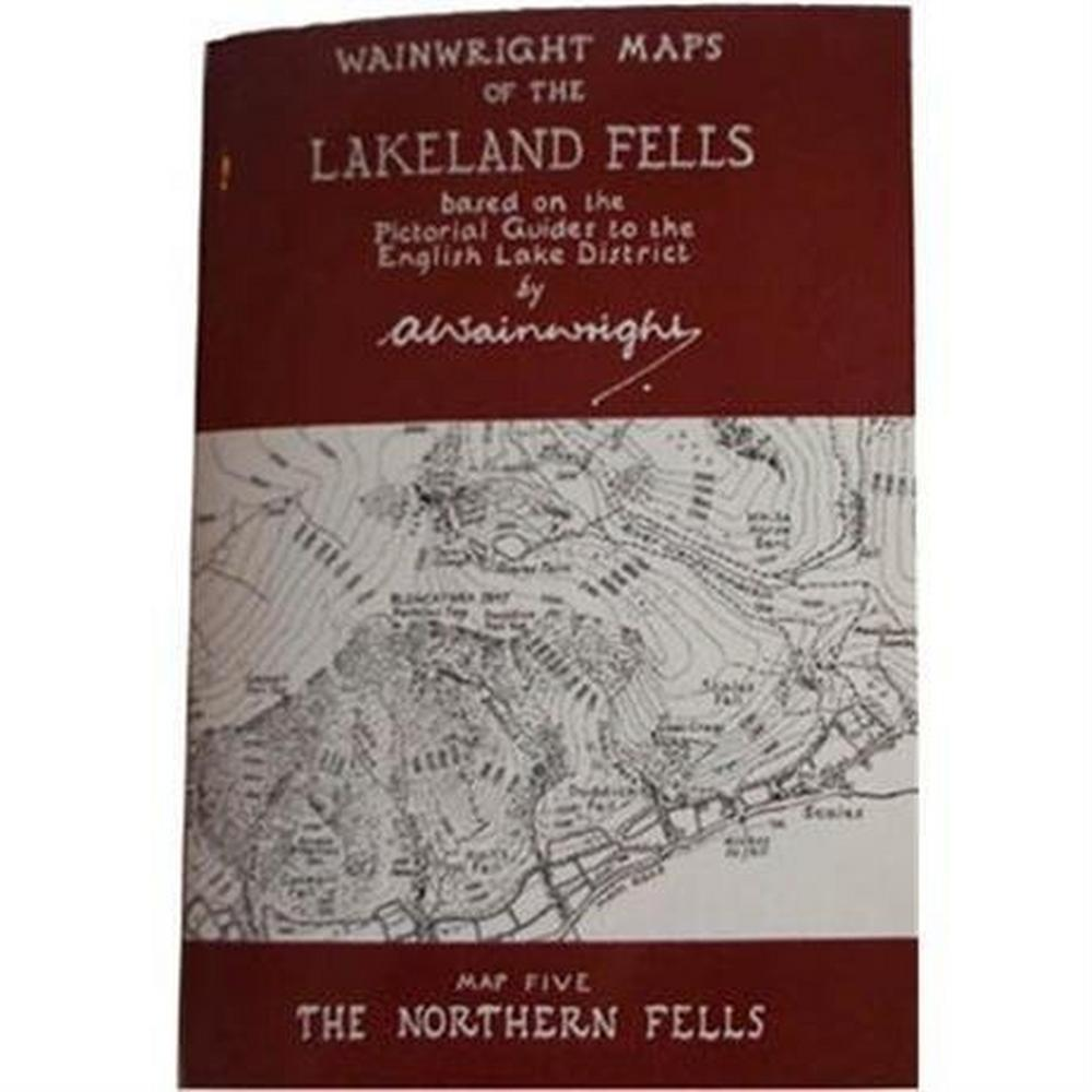 Miscellaneous Wainwright Map No.5 The Northern Fells