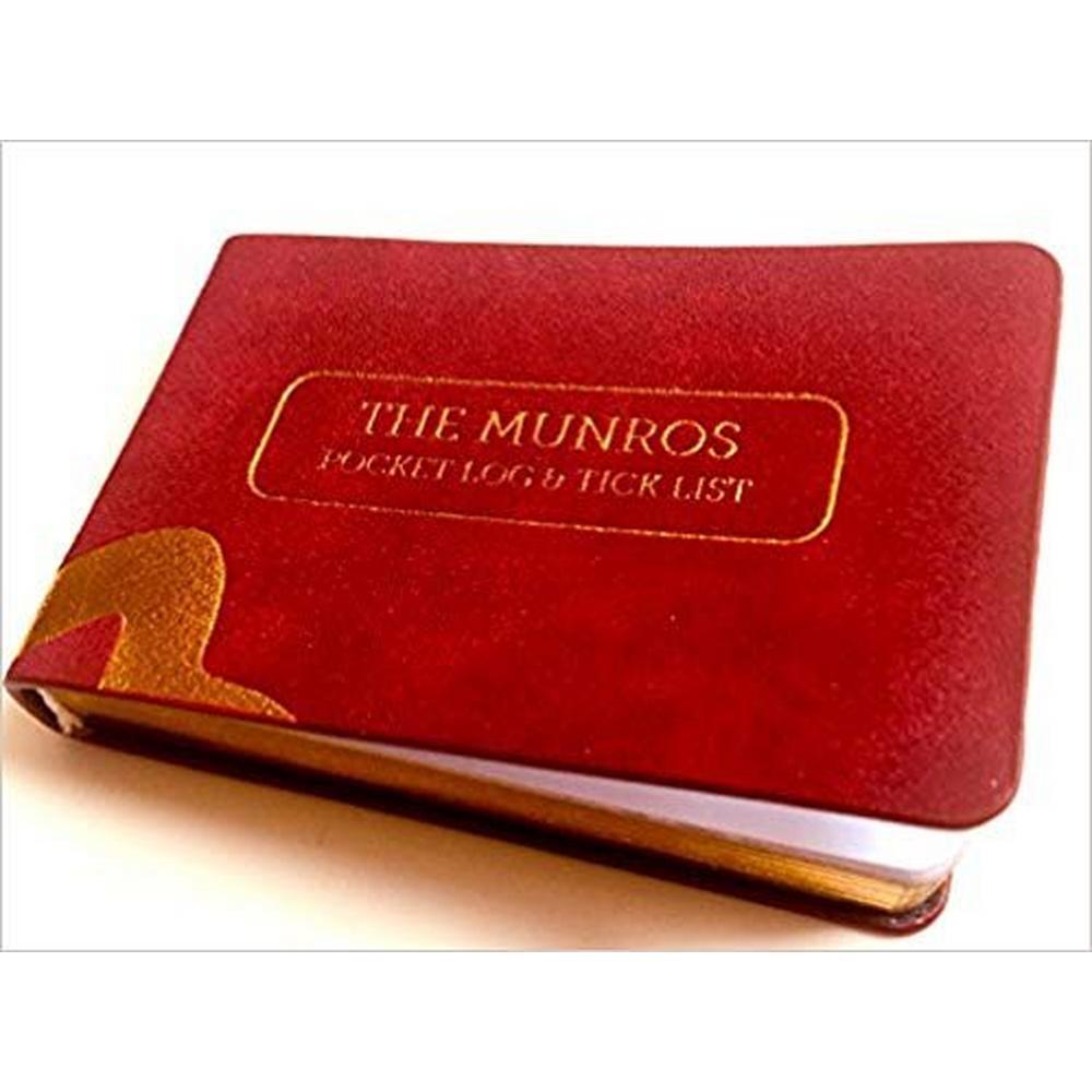 Cordee The Munros Pocket Log & Tick List