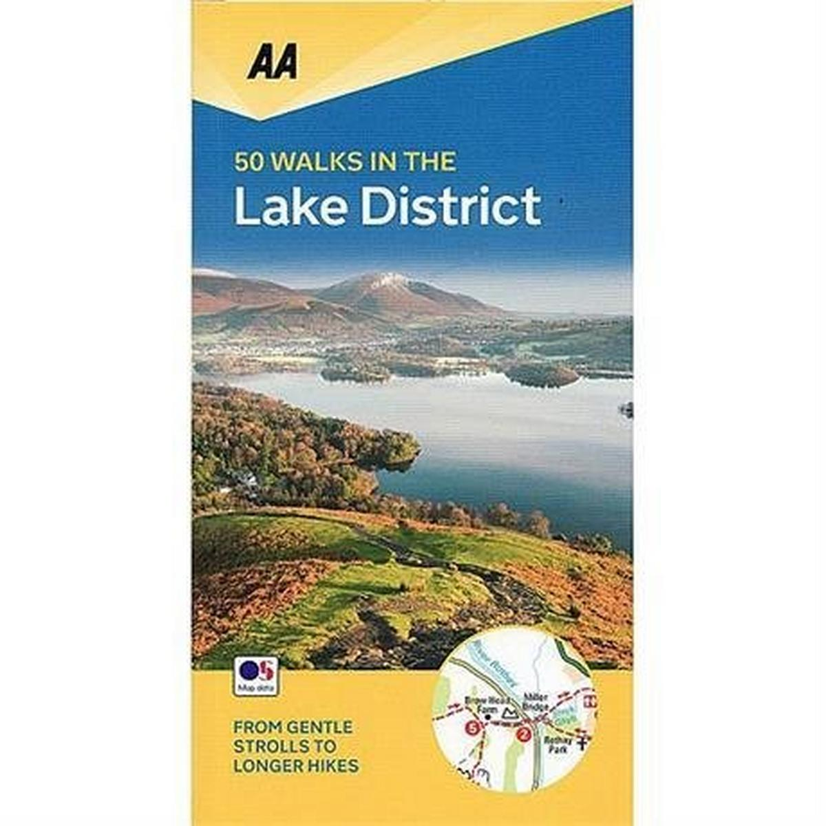 Miscellaneous AA Walking Guide Book: 50 Walks in the Lake District