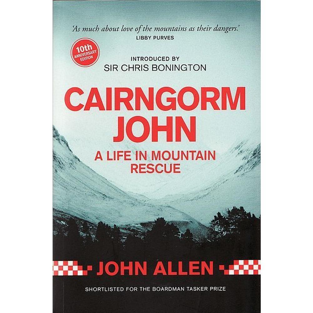 Sandstone Pr Cairngorm John - A Life in Mountain Rescue